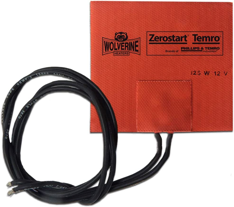Zerostart Max 57% OFF 3400052 Silicone Pad Heater Manufacturer direct delivery Small Reservoir and Hydrau