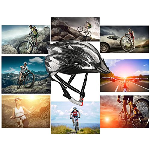 Dazhengyang Cycling Bike Helmet with Removable Visor,Ultralight Adjustable Adult Cycling Helmet