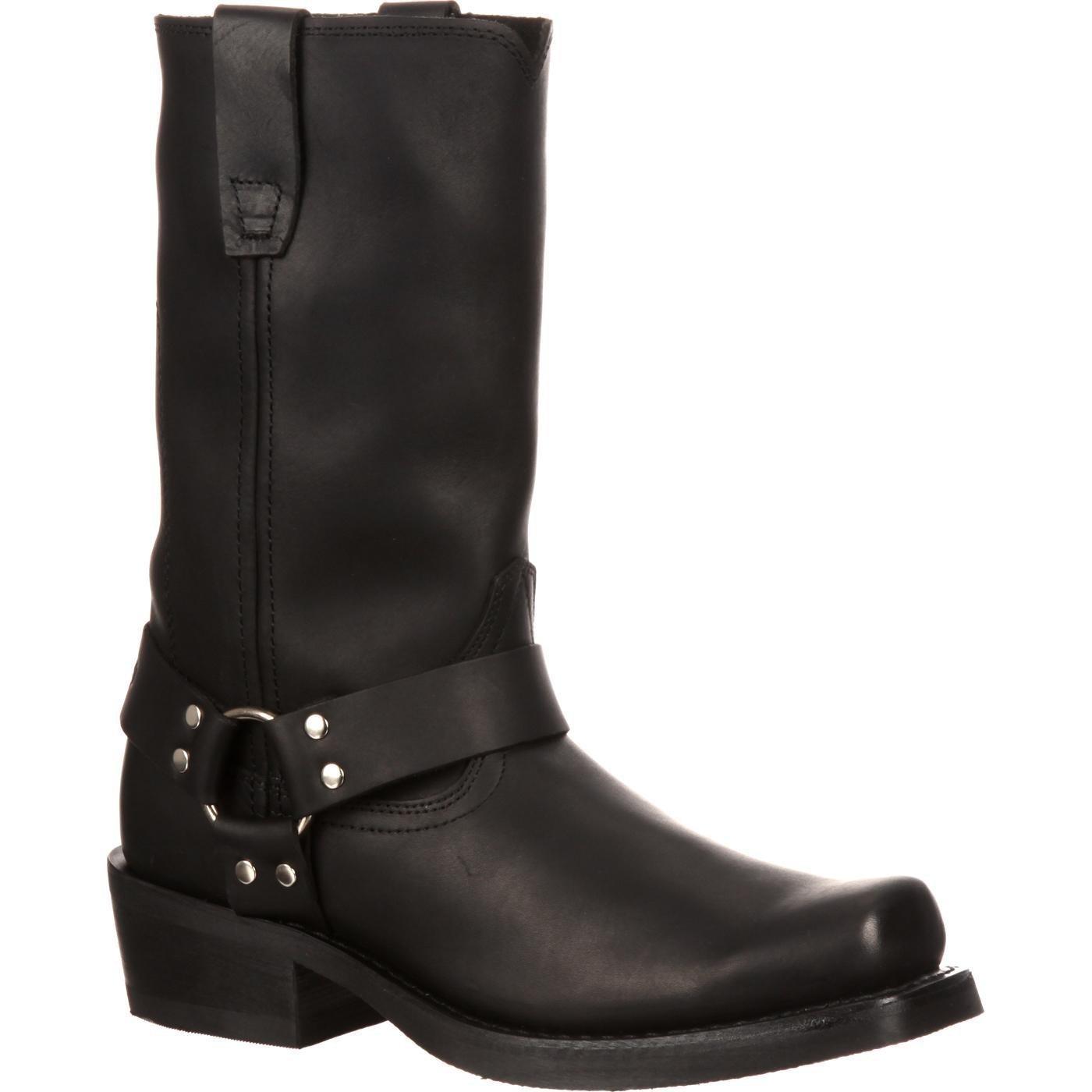 Durango Men's DB510 11'' Harness Boot Oiled Black 11 EE - Wide by Durango