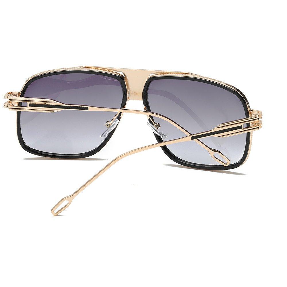 MenS And WomenS Box Sunglasses Unisex Retro Fashion Radiation Protection UV400 Outdoor Anti Glare Shatterproof Polarised Sunglasses 100/% UV Protection Oversized Eyewear Classic Designer Sunglasses