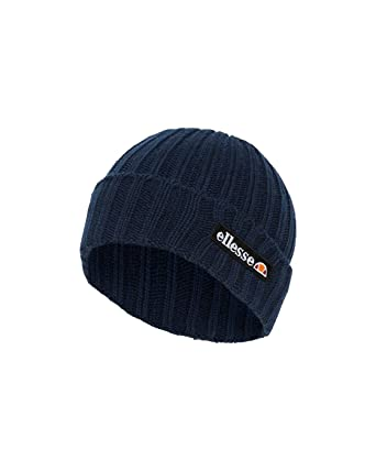 0e362225 Ellesse Mens 'Lazzik' Beanie Hat (Navy) One Size: Amazon.co.uk: Clothing