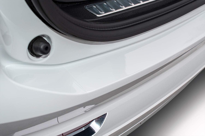 tuning-art FL105 Feuille de Protection de seuil de Chargement avec racleur Couleur:Transparent