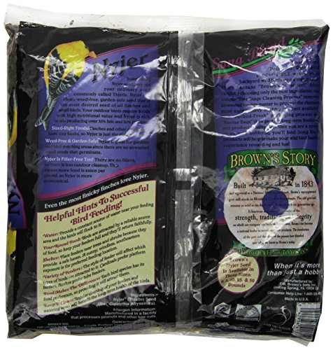 F.M. Brown's Song Blend Nyjer Thistle Seed for Pets, 2-Pound by F.M. Brown's (Image #3)