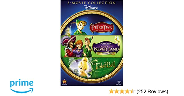 Amazoncom Peter Pan Return To Never Land Tinker Bell Peter