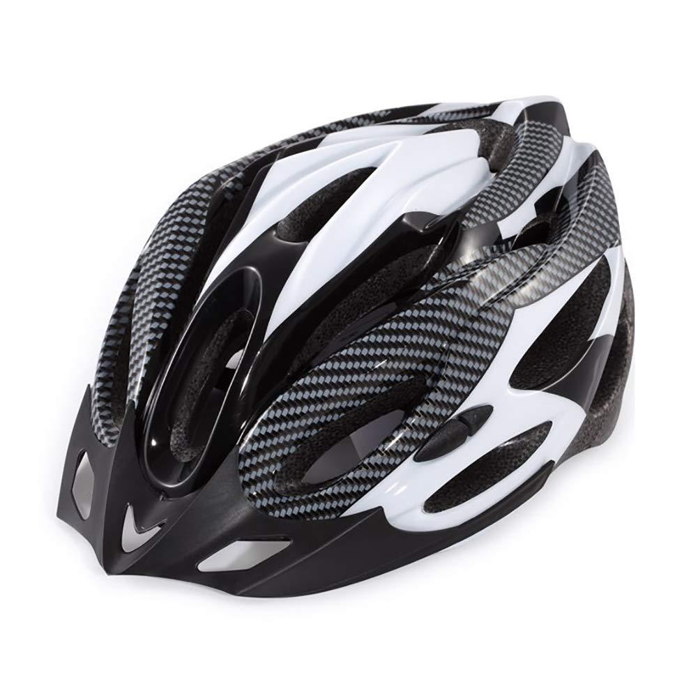 BLTX Casco Bicicleta Helmet Bici Ciclismo Anchura de la Cabeza 17 cm Circunferencia de la Cabeza Entre 54-60cm Longitud de la Cabeza 21cm
