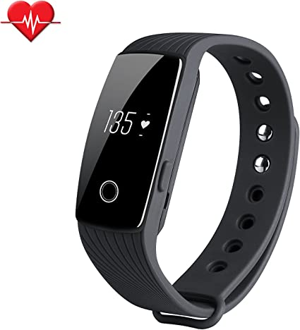 Amazon.com : TINCINT Fitness Tracker & Heart Rate Monitor ...