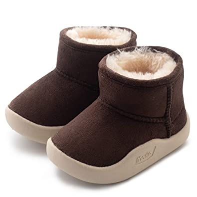 3ea6ab6c6d5 CIOR Baby Toddler Snow Boots Winter Warm Infant Bootie Anti