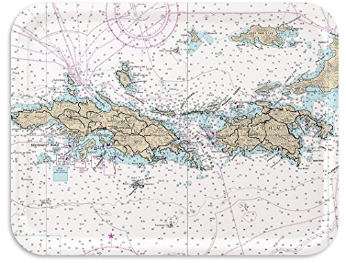 virgin islands nautical chart - 9