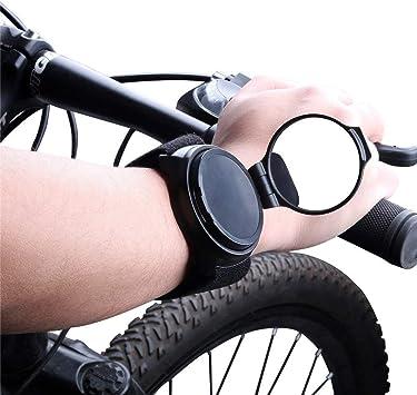 Bikeeco Espejo de bicicleta, 360 ° de rotación, ajustable, para ...