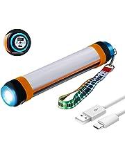 Tianhaixing Mosquito Zapper lanterna da campeggio tenda luce, antizanzare e IP67impermeabile, ricaricabile tramite USB e anti insetti repellente per insetti gancio a scomparsa per interni e esterni