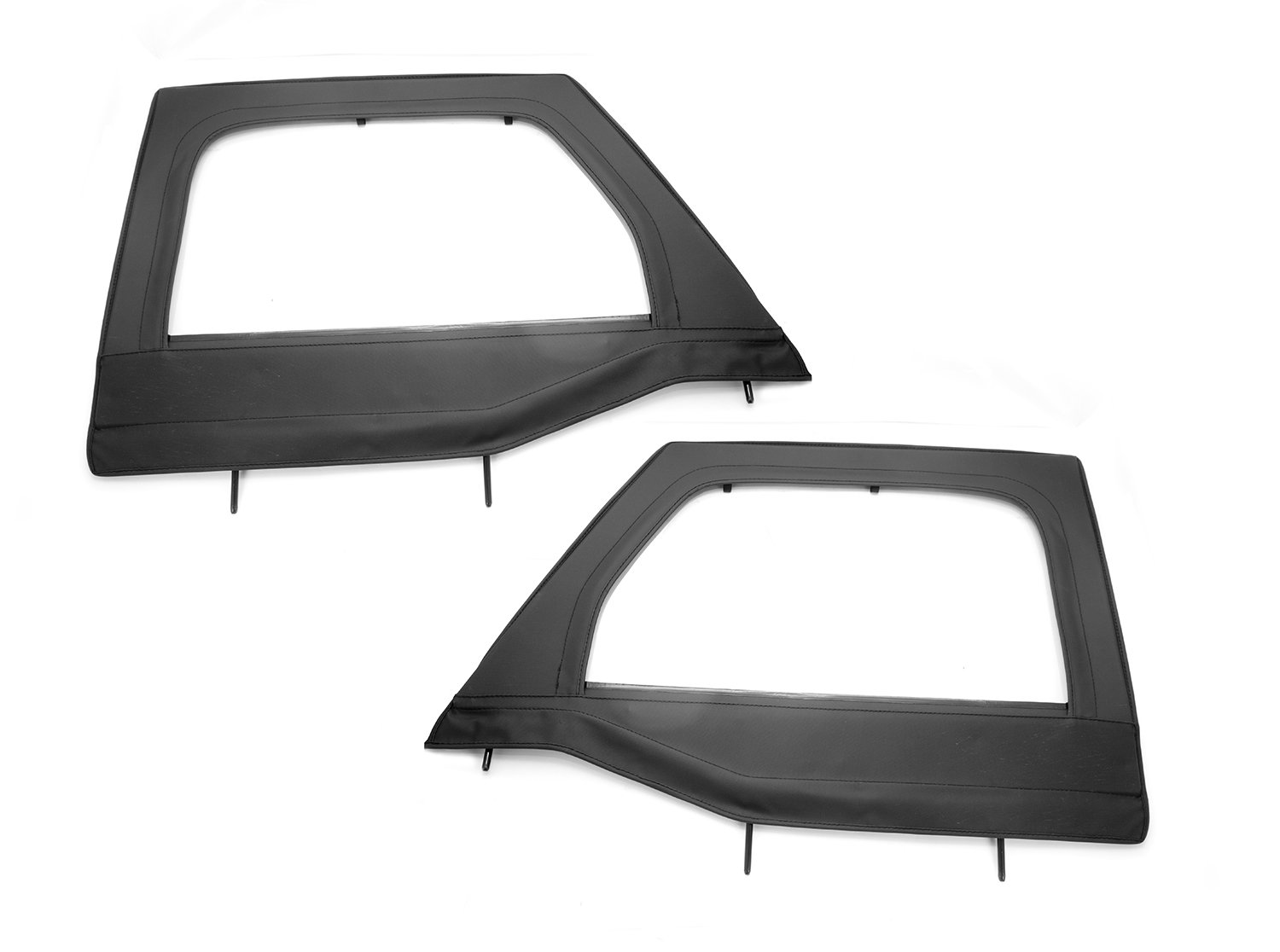 Amazon.com Rugged Ridge 13711.15 Black Front Upper Soft Door - Pair Automotive  sc 1 st  Amazon.com & Amazon.com: Rugged Ridge 13711.15 Black Front Upper Soft Door - Pair ...