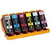 エプソン用 KUI クマノミ 互換インク 6色パックL 全6本 増量サイズ KUI-6CL-L互換 [対応機種] EP-879AB / 879AW / 879AR / 880AW / 880AB / 880AR / 880AN