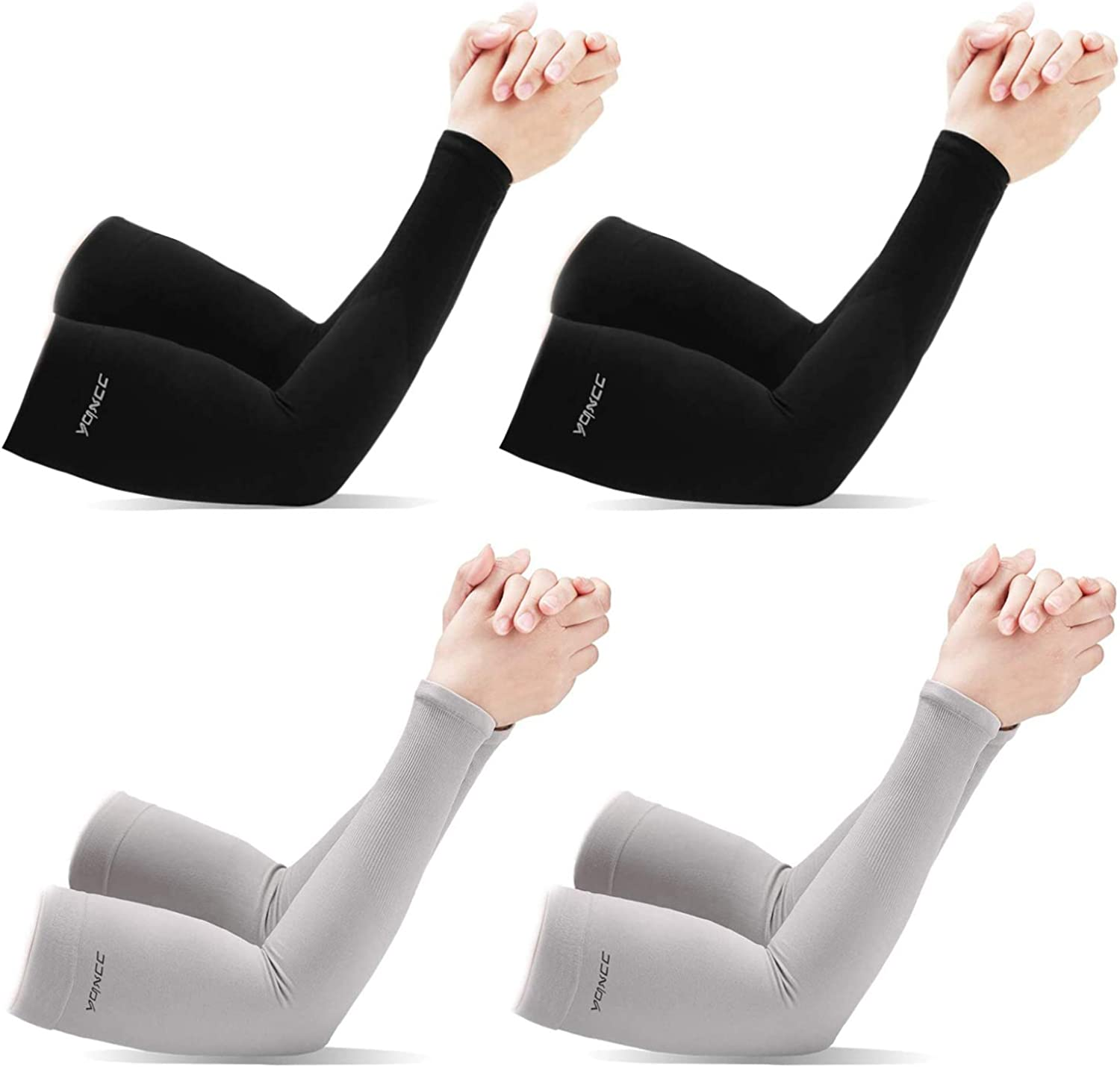 YQXCC Arm Sleeves for Men Women to Cover UV Sun Protection for Outdoor Sports