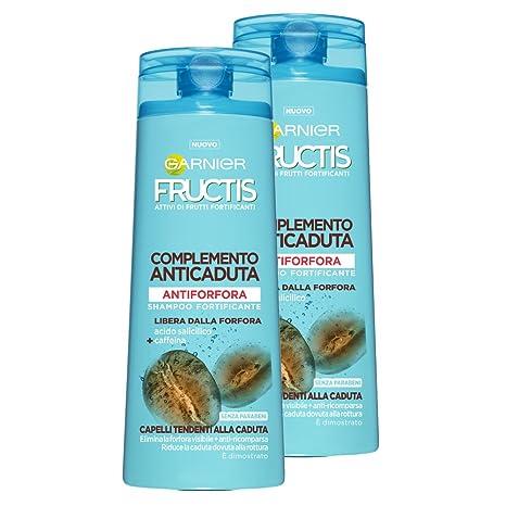 Garnier Fructis Champú anticaspa complemento Anticaída para pelo tendenti Alla caída, 250 ml – 3