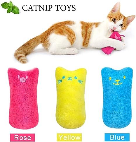 Amazon Com Ainolway Interactive Cat Catnip Toys Funny For Kitten