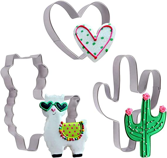 Durable Cookie Cutters Baking Mould Cake Cactus Cookie Animal Cute Shape Mold FM