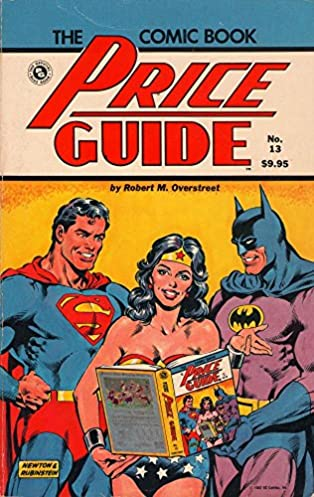 the overstreet comic book price guide no 13 robert m overstreet rh amazon com overstreet comic price guide overstreet comic guide 47