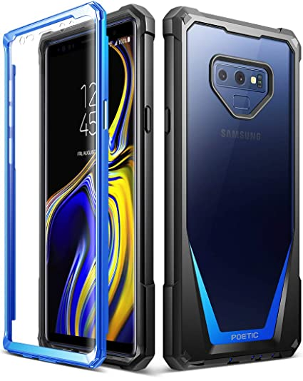 competitive price cd7a9 f7b95 Amazon.com: Galaxy Note 9 Case, Poetic Guardian [Scratch Resistant ...