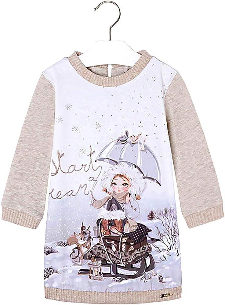 4963 Winter Wonderland Long Sweater Mayoral Girls