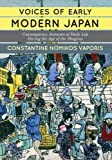 Voices of Early Modern Japan: Contemporary Accounts