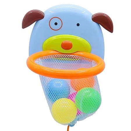 Baño Juguetes Plástico Baloncesto Baby Shower Bañera Divertida ...