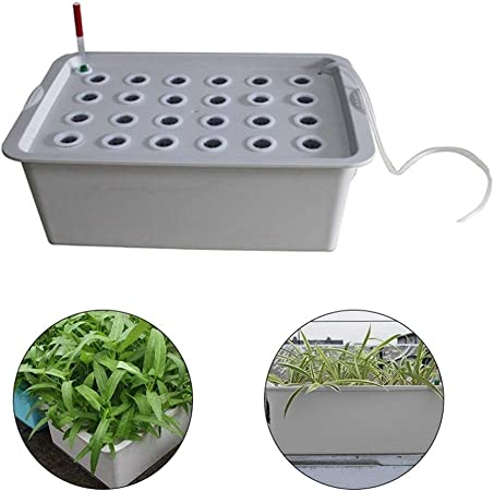 Amazon Com Yazhi Mila Fruit Protection Bags Plant Site Hydroponic Garden Pots Planters 24 Holes System Indoor Garden Cabinet Box Grow Kit Bubble Nursery Pots Bee Cages Garden Outdoor