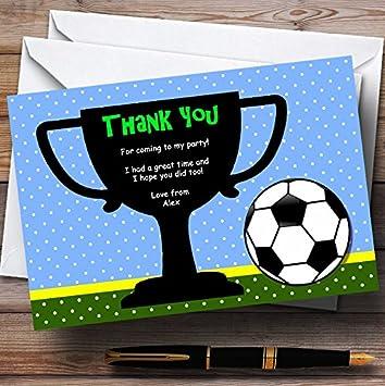 Invitaciones Y Felicitaciones El Fútbol Y Trofeo