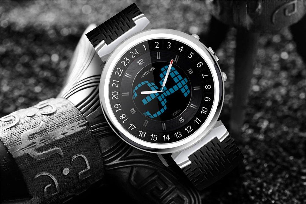FensAide Android Reloj Inteligente para Hombres I6 Reloj de ...