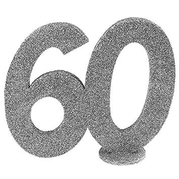 Santex 4752 60 Deko Zahl Vertikal Fur Geburtstag 60 Jahre