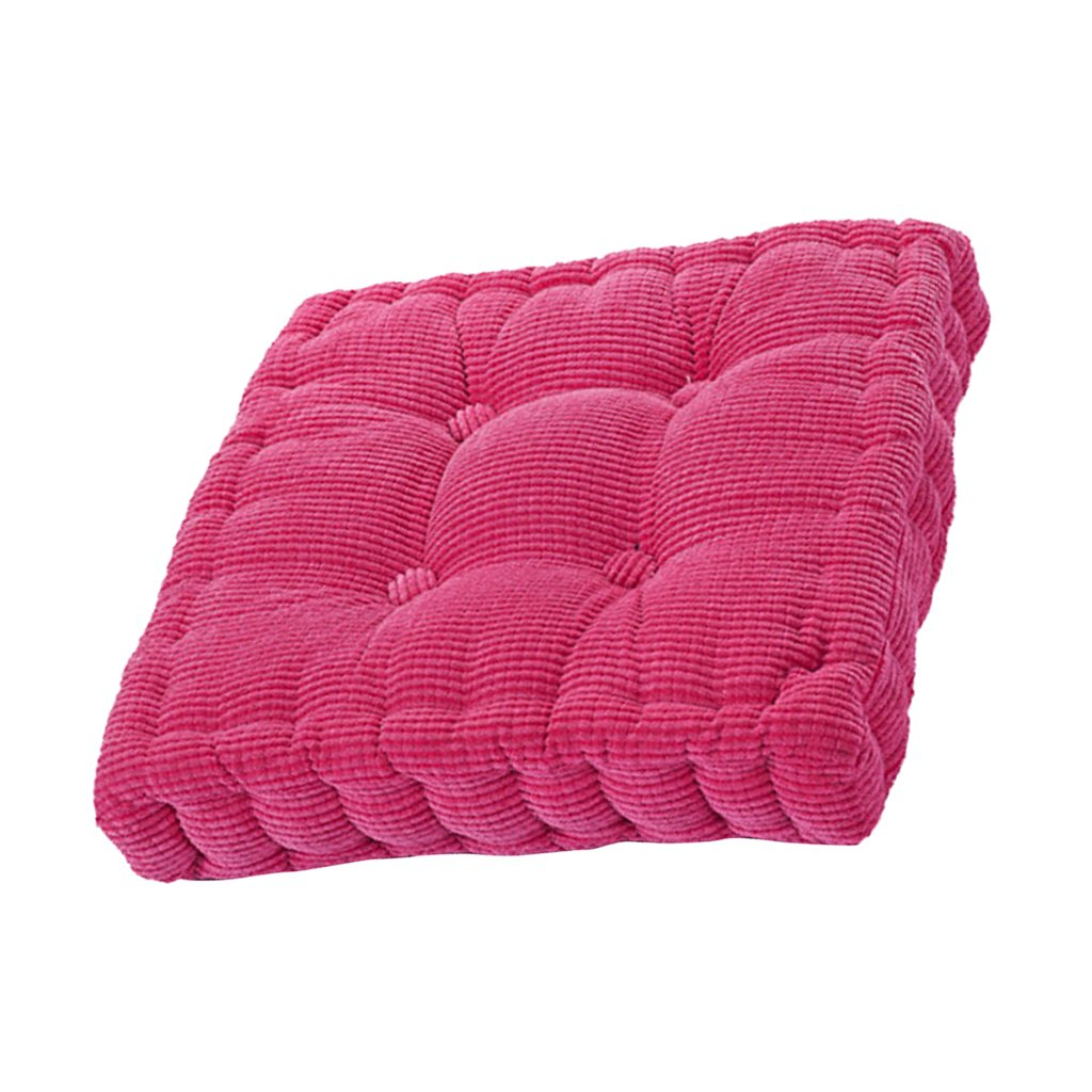 5 Garden Car Sofa Office Square Patio Seat Yard Chair Cushion Pad Mat Decor Pillow