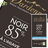 [3枚] カカオ85% ダーデン 有機アガベチョコレート ダーク 90g