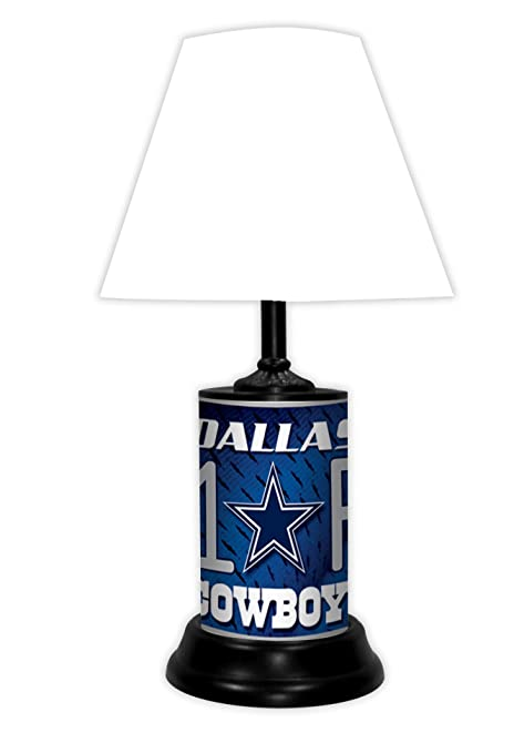Amazon Com Dallas Cowboys Desk Lamp By Gtei Sports Outdoors