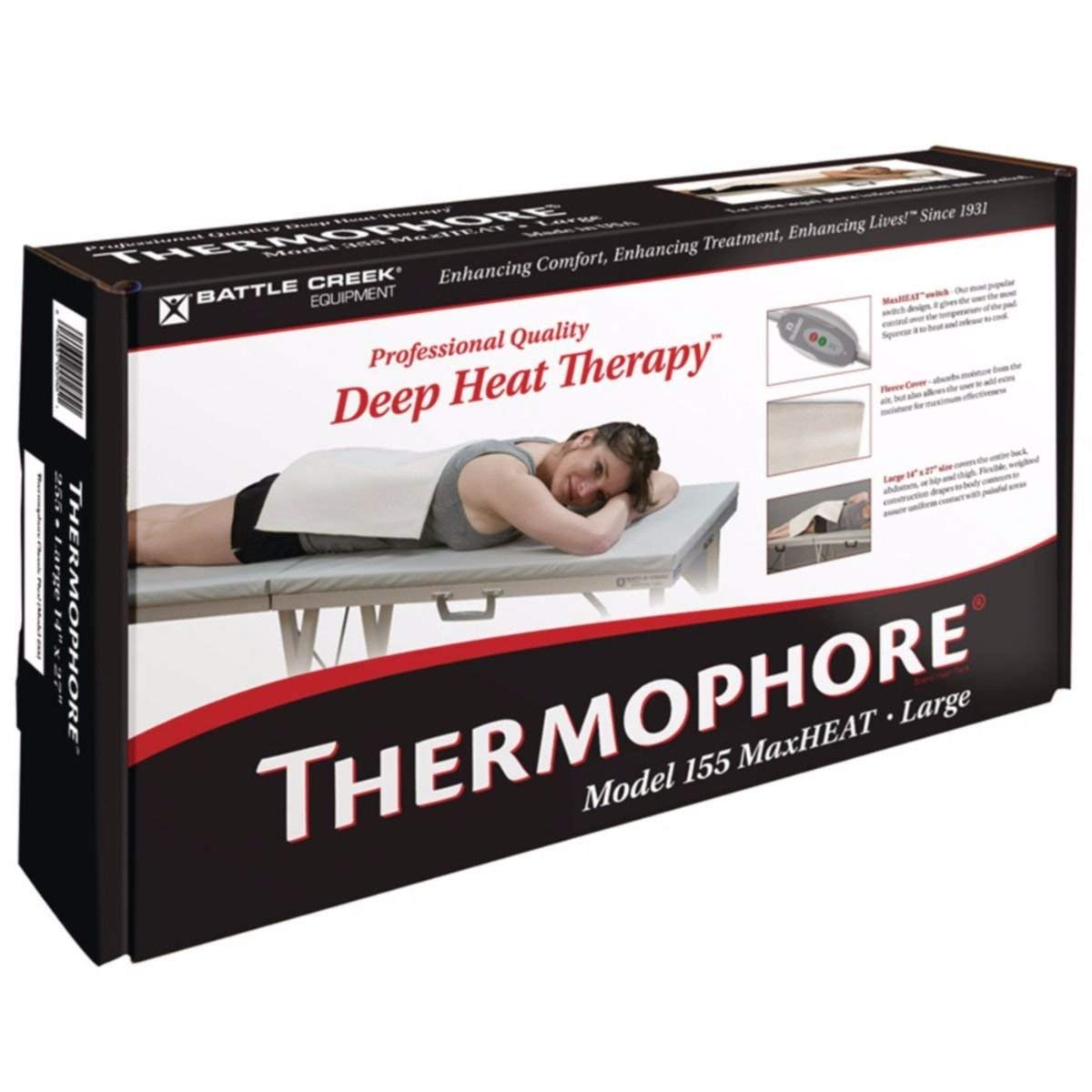 "Thermophore MaxHEAT and MaxHEAT Plus, MaxHEAT, Medium, 14"" x 14"""