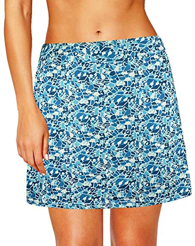 modase Women Pleated Dresses for Teen Tennis Scooters Mini Skirts M