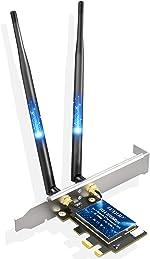 EDUP PCIe WiFi 6 Card Bluetooth 5.1 AX 3000 Mbps AX200