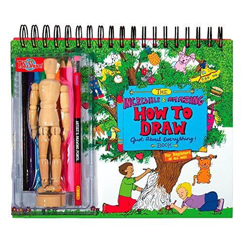 T.S. Shure The Incredible & Amazing How To Draw Just About Everything Book