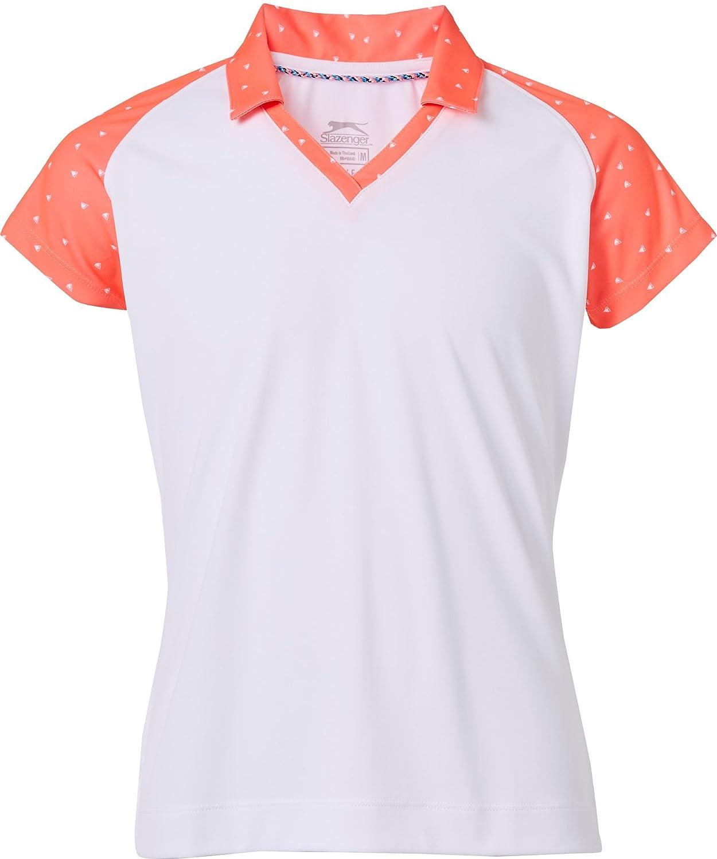 Slazenger Polo de golf para niña, XS, Coral Carnival: Amazon.es ...