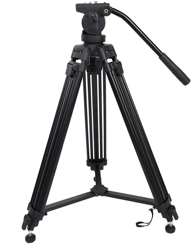 Mugast Panoramic Tripod Kit,Professional Portable Ergonomical Aluminum Alloy 360 Panoramic Tripod Kit with Hydraulic Damping Ball Head,Suitable for SLR DSLR Camera