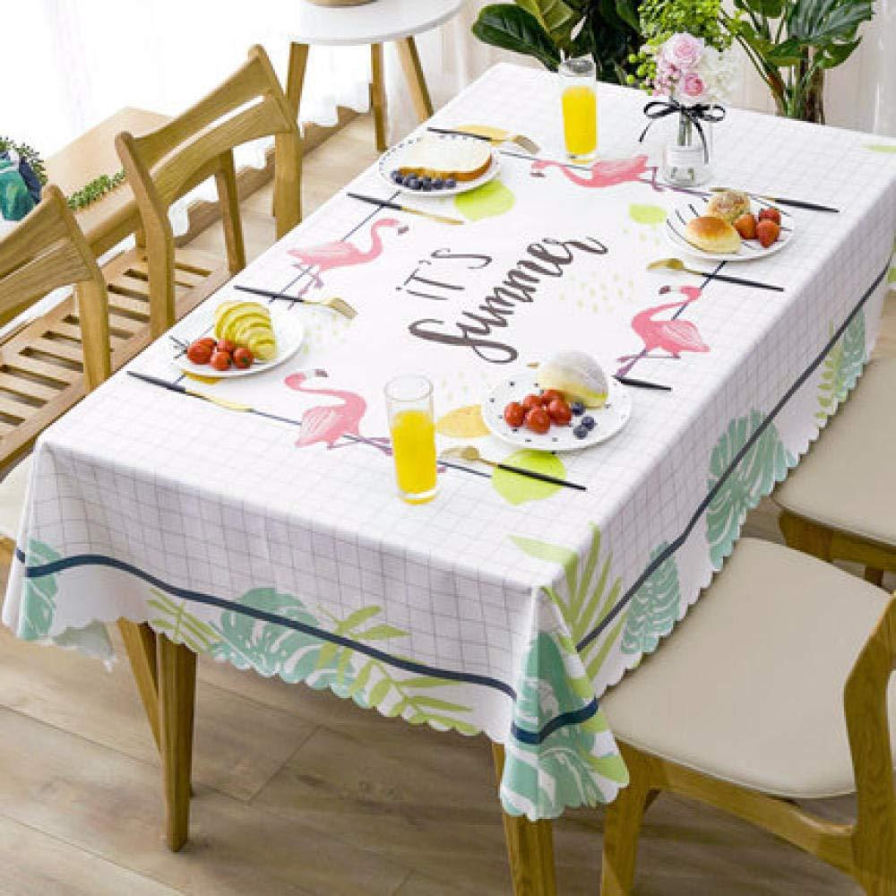 WJJYTX Wachstuch tischdecke, quadratische tischdecke klapptisch Abdeckung wasserdicht Polyester Baumwolle Land Garten für küchenmöbel