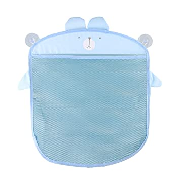 SevenMye Baby Bath Toy Mesh Net Storage Bag Organizer Holder Suction Cup Bag