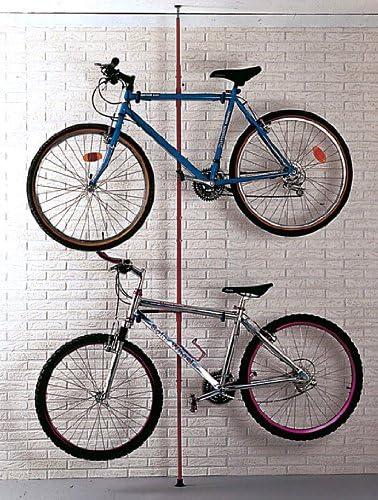 Mottez - Soporte de Suelo para 2 Bicicleta (hasta el Techo ...