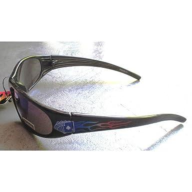 hotrodspirit - lunette de soleil choppers logo forme moto biker homme rock BiByCegzro