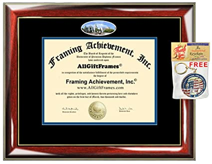 Amazon.com : Creighton University Diploma Frame School Campus Photo ...