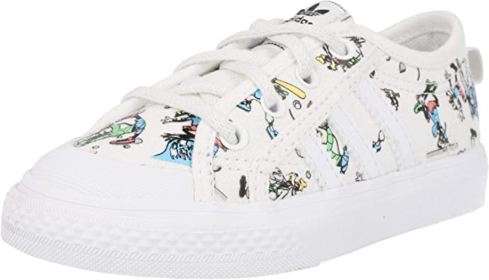 adidas Originals Nizza X Disney I White