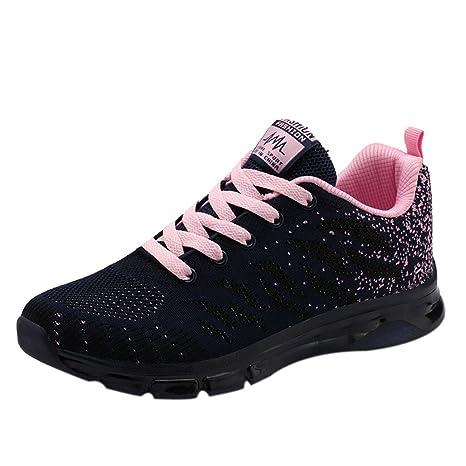 BBestseller-Zapatos Zapatillas Planas para Mujer Casuales Cabeza Sandalias para Mujer Zapatos con Cordones Zapatos