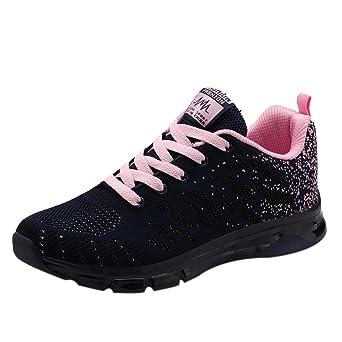 achat le plus récent Prix usine 2019 parcourir les dernières collections Moonuy Sneakers Chaussures de Sport Homme Mesh Net de Grande Taille Mode  Cravate Respirant Confortable athlétique Running Route Chemin Basses  Baskets ...