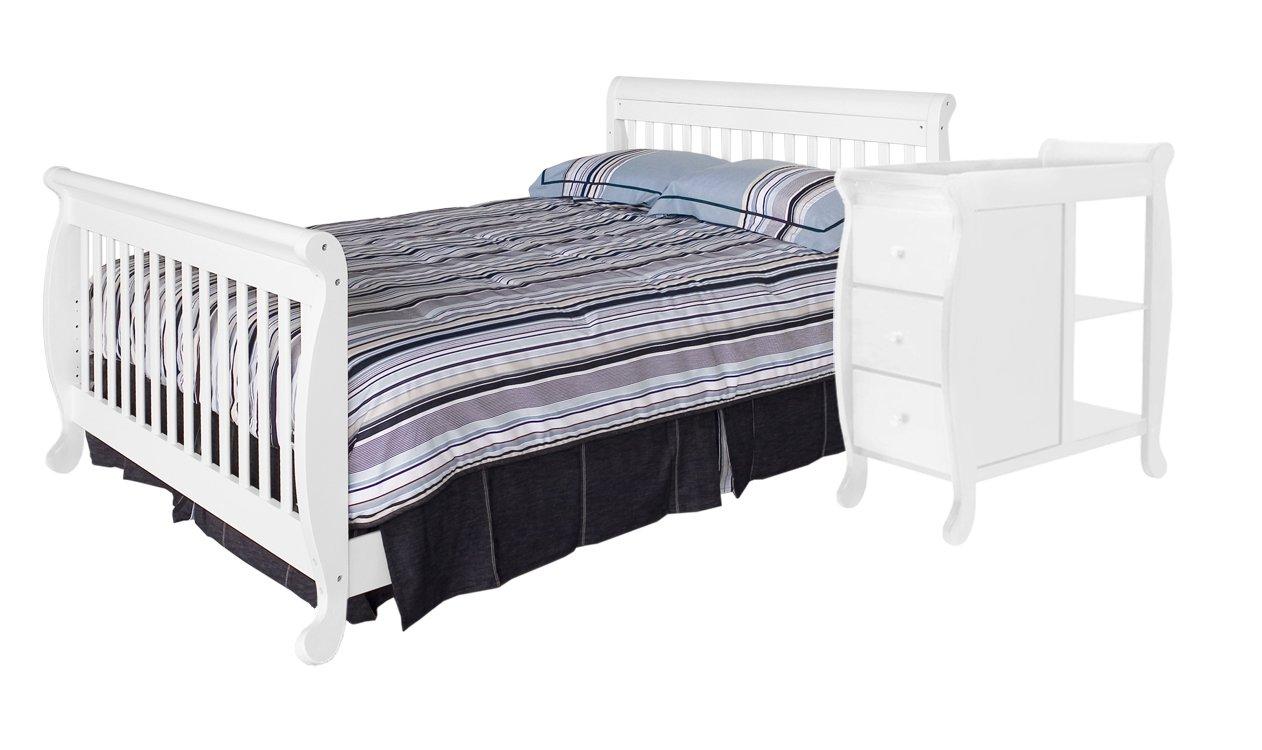 Amazon.com : DaVinci Twin/Full Size Bed Conversion Kit, White : Nursery Bed  Rails : Baby