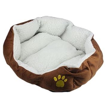 Extraíble sofá cama cuna cojín para perros perro 46 cm * 42 cm, marrón: Amazon.es: Deportes y aire libre