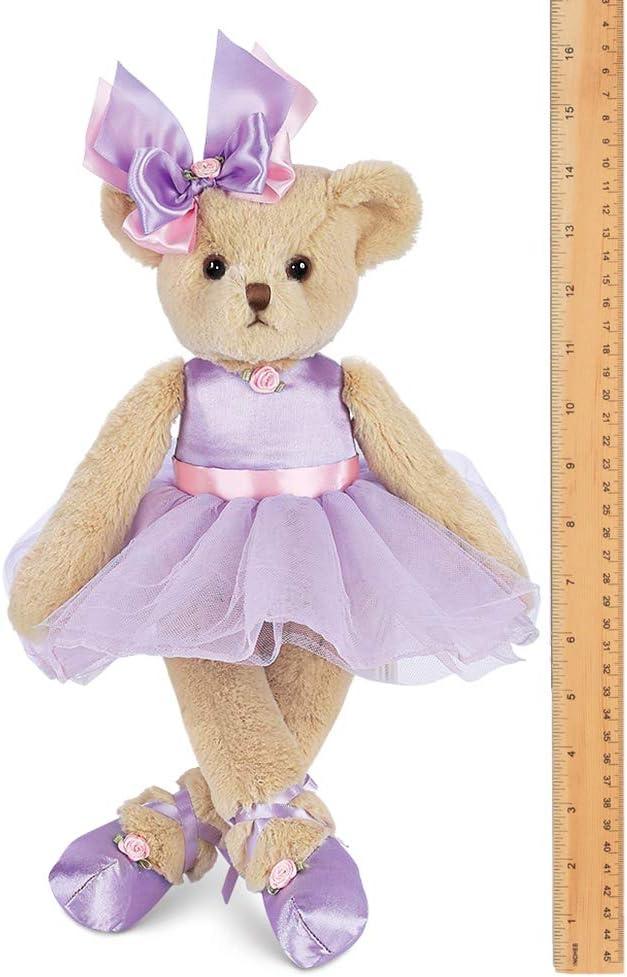 Gorgeous teddy bear Bearington collection teddy bear Girl teddy bear in lilac Tutu dress Ballet girl teddy bear /'Giselle/' gift for girls