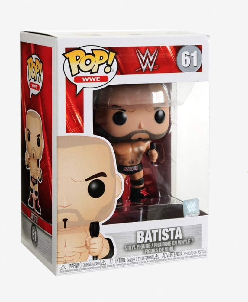 Funko- Pop Vinilo: WWE: Dave Bautista Figura Coleccionable ...